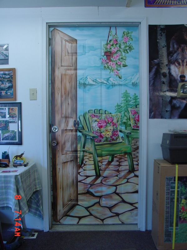 25 best ideas about door murals on pinterest door
