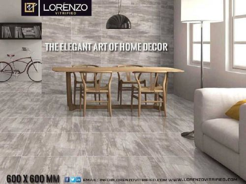 Vitrified tiles gives most exotic look of the flooring than...  Vitrified tiles gives most exotic look of the flooring than other ceramic tiles. Vitrified tiles are made of mixture of silica and clay. Vitrified flooring gives most glossy look .vitrified flooring reflects mirror like look so it is called as polished tiles. Vitrified tiles are having hard surface which is specially made and charged process. Vitrified tiles are having new technology of double charged vitrified tiles. Vitrified…