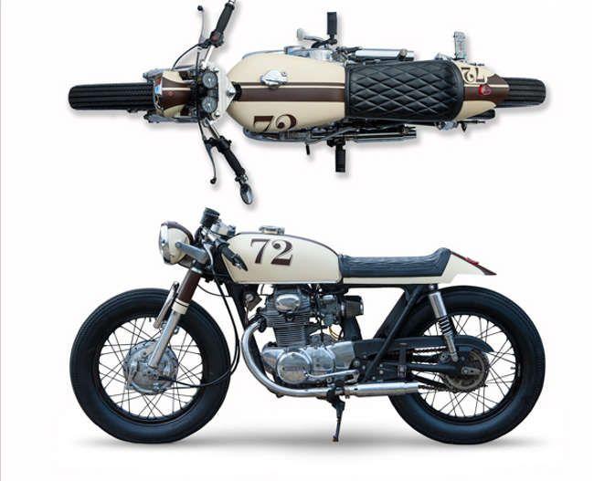 Honda CB350 Cafe Racer by Dundin #motorcycles #caferacer #motos   caferacerpasion.com