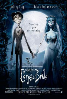 [ Corpse Bride (2005) ] : When a shy groom practices his wedding vows in the inadvertent presence of a deceased young woman, she rises from the grave assuming he has married her.