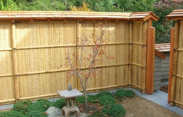 Outstanding Reed Fencing Home Depot Bamboo Fencing Home Depot