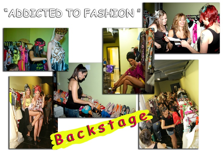 "ZER-FAM FASHION SHOW & Backstage 2012 ""ADDICTED TO FASHION"" 4/7 @ Dream City Live Stage"