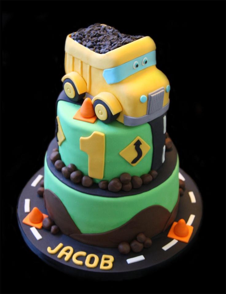 15 best Truck cake images on Pinterest Dump truck cakes Dump
