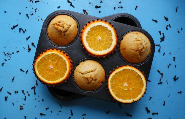 Sekrety Cookietki: Aromatyczne muffinki pomarańczowo-goździkowe
