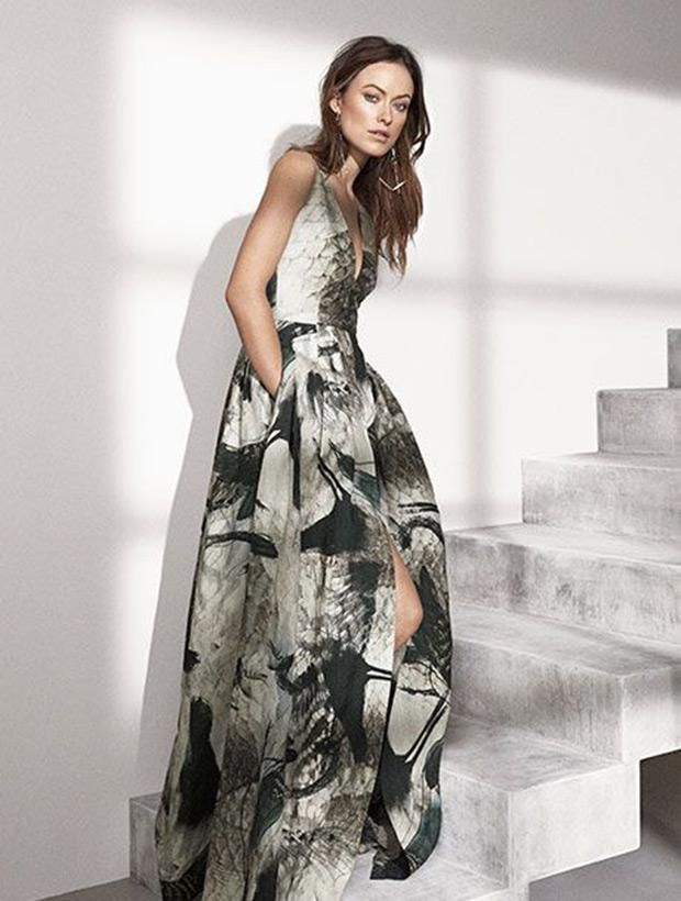 Olivia Wilde x H&M's Conscious Collection.