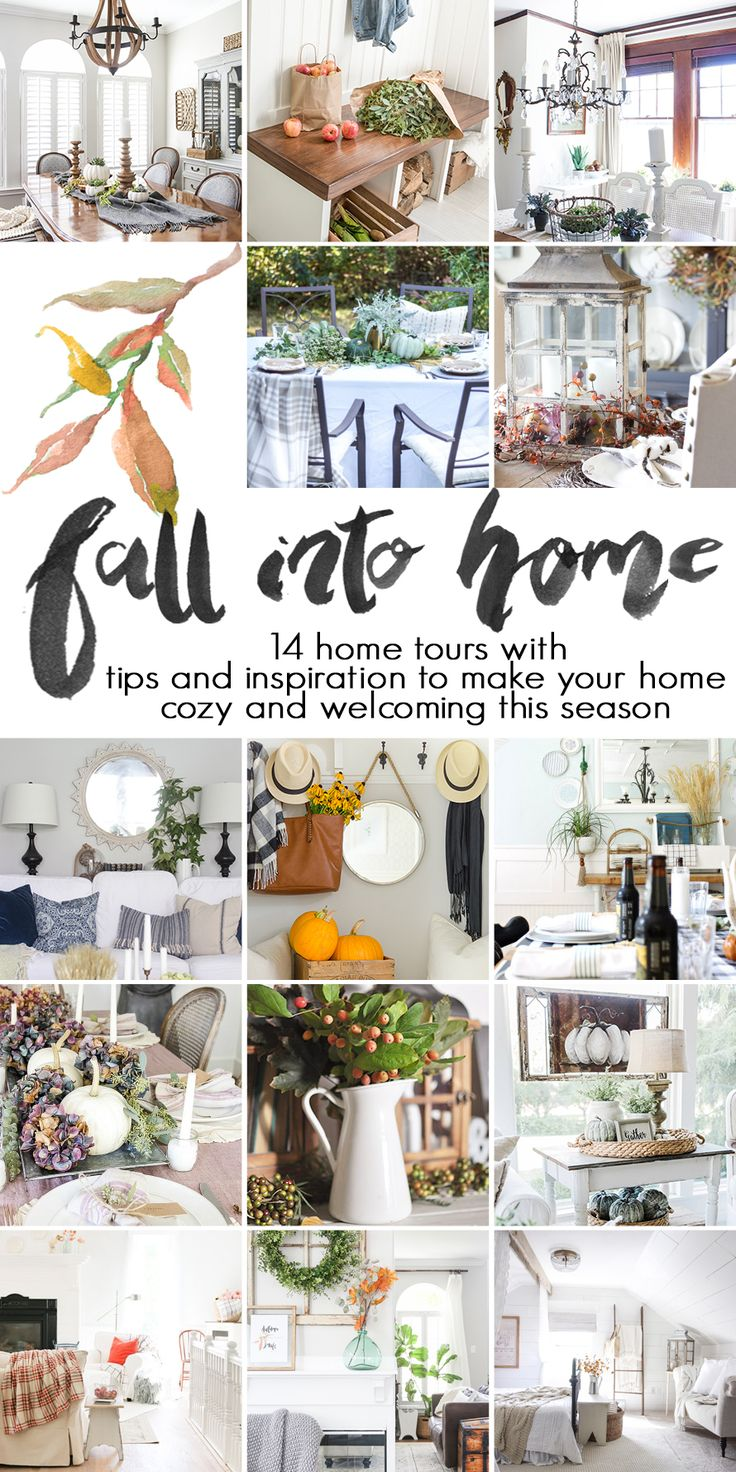 Home products company decorating ideas news amp media download contact - Cozy Fall Home Tour 2016