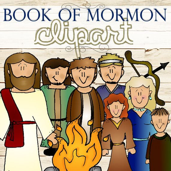 Clipart for Entire Book of Mormon Stories INSTANT by TimeSavors