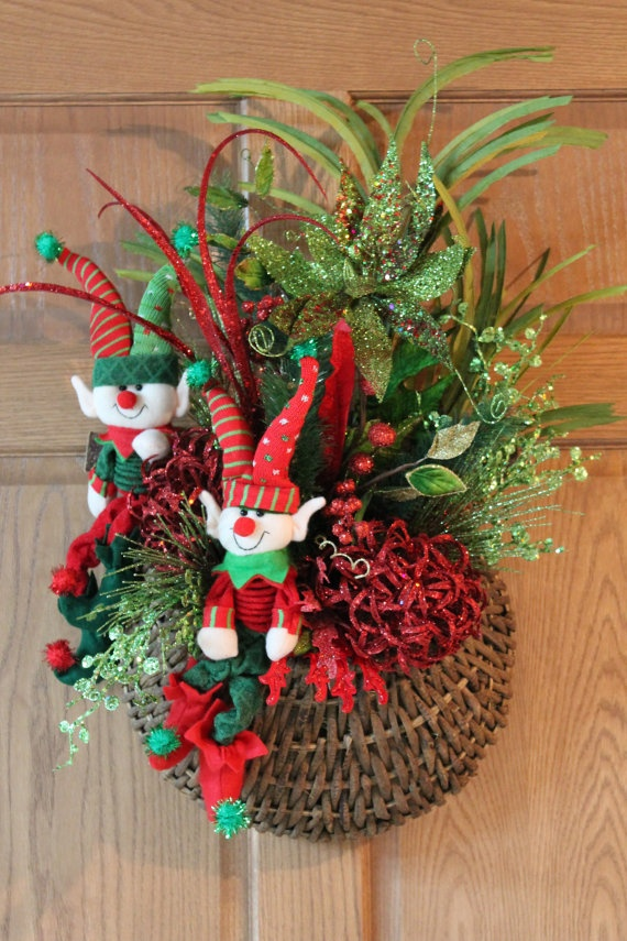 1000 Images About Christmas Holiday Wreaths On Pinterest