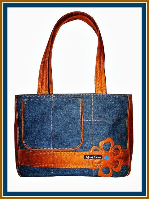 Pin now - look later. Tons of denim handbag / purse inspiration in one click! And so many jeans to Upcycle / recycle.