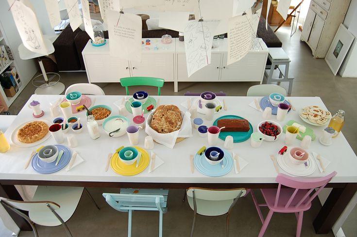 allestire tavolo prima colazione - Cerca con Google
