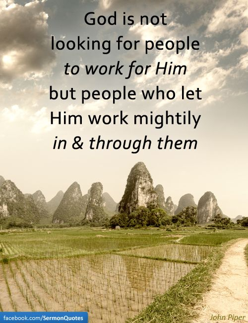 """""""For we are His workmanship, created in Christ Jesus for good works, WHICH GOD PREPARED BEFOREHAND, that we should walk in them,"""" Ephesians 2:10."""