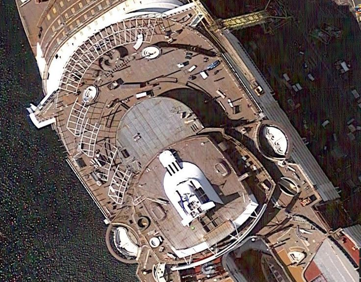 Google Maps updated with somewhat recent view of Symphony of the Seas.