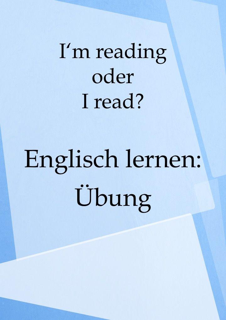 Englisch lernen und verbessern: Übung