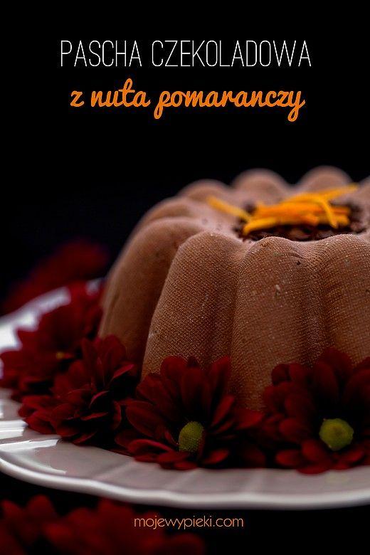 Pascha czekoladowo - pomarańczowa