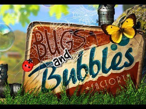 Bugs and Bubbles - Träna en mängd färdigheter med denna app. Samma upplägg som Bugs an d Buttons