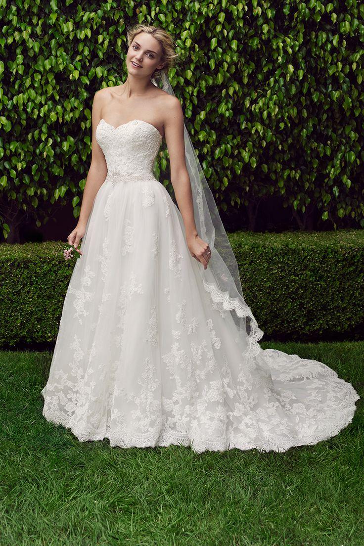 Bridal water lily 2226 wedding dresses photos brides com - Wedding Gown By Casablanca Bridal