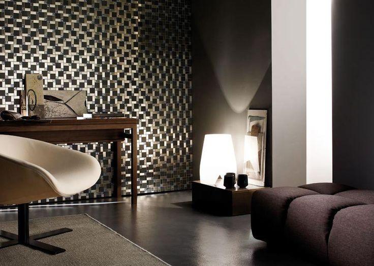 Mosaico+ Dialoghi Collection - Misura Opera-15  #mosaicopiu #mosaico #mosaic #acciaio #steel #vetro #float #glass #marmo #marble #bardiglio #lucchesedesign #francescolucchese #walldecor #interior #living #livingroom #interiordesign #design #madeinitaly #mosaicinspiration