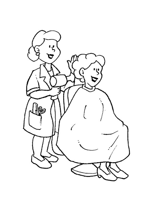 occupations 999 coloring pages