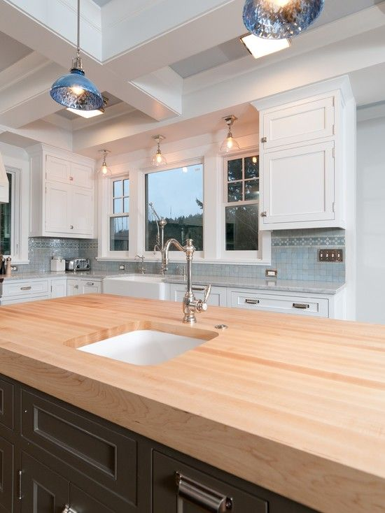 Butcher Block Counter Top Kitchen Design Pictures