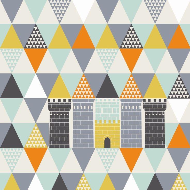 Kinder Tapeten Auf Rechnung : Interior Castle Wallpaper