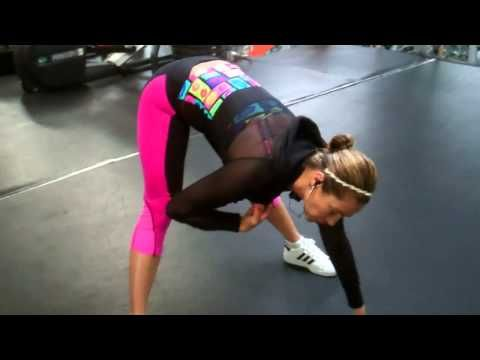 "JENNIFER NICOLE LEE'S ""BELIEVE & NEVER GIVE UP"" JNL FUSION WORKOUT CHALLENGE! - YouTube"