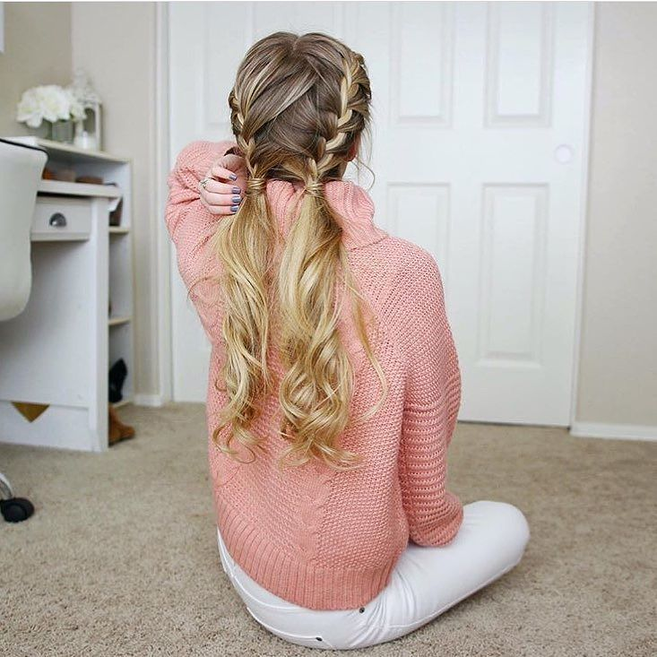 Love these pigtails by the gorgeous @missysueblog