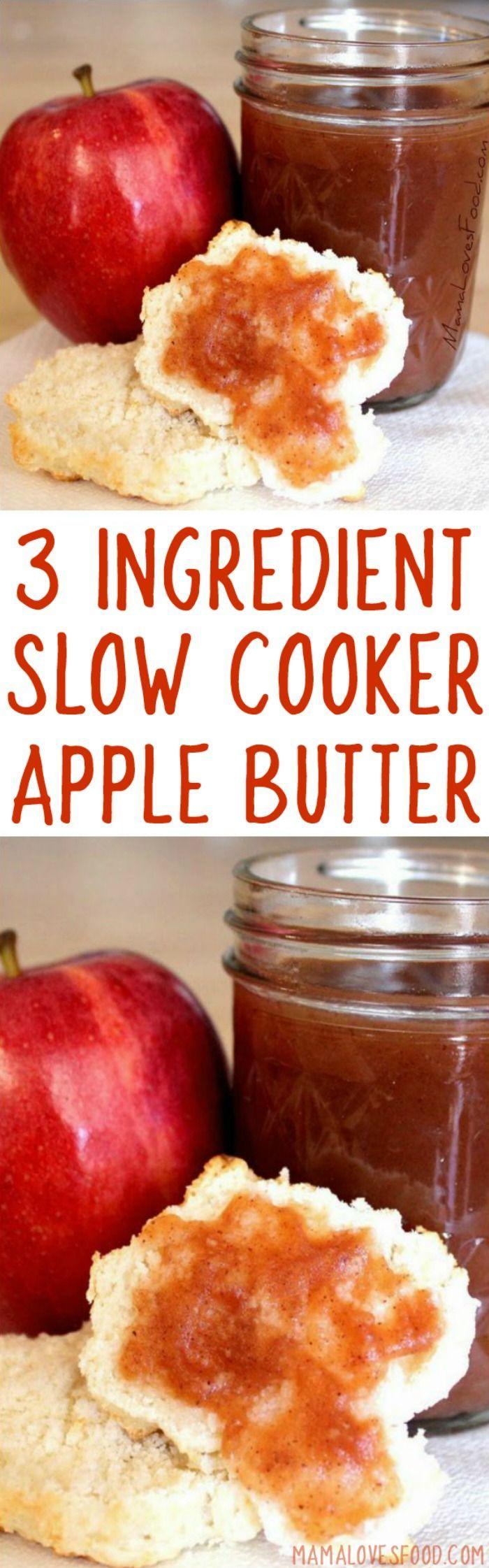 love making this! you can even SKIP the sugar! Three ingredient slow cooker apple butter RECIPE http://healthyquickly.com/5-healthy-smoothies-for-weightloss/