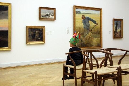 Statens Museum for Kunst, Copenhagen - via www.museumdiary.com