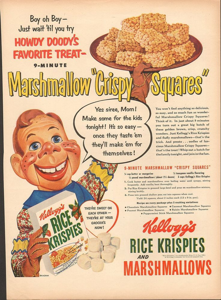 kelloggs cereal advertisement Kellogg's offered the first cereal premium in 1909, the funny jungleland moving pictures booklet, available with the purchase of 2 boxes of kellogg's corn flakes in 1932, snap, a small gnome wearing a bakers cap and carrying a spoon, was the first gnome to be featured on kellogg's rice krispies.