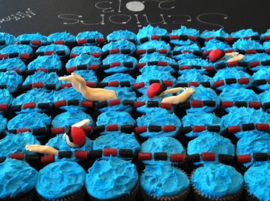 The Swim team 2013 - Vote for our cupcakes