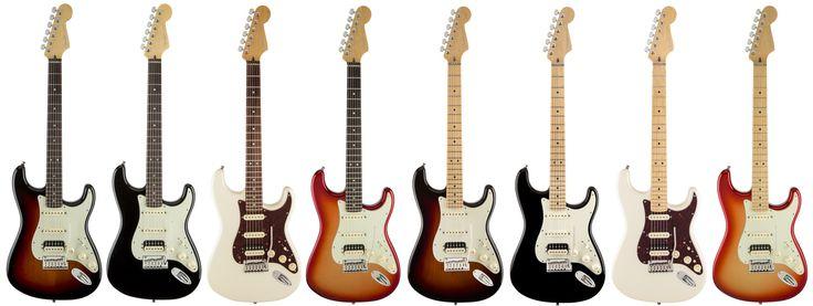 Fender American Deluxe Stratocaster HSS Shawbucker