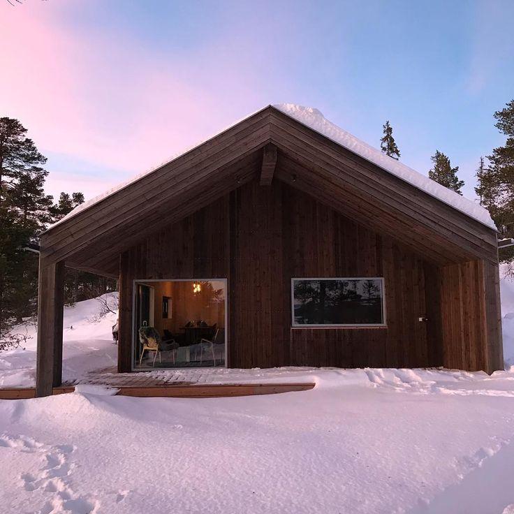 Beautiful cabin in Norway. #VELFACview #cabin #norway @Cabinloen