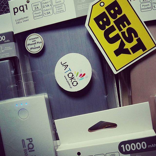 Powerbanki - złoty, srebrny, szary, czarny i biały... 5000 i 10000 mAh od PQI 😻 Już u nas! Wystarczą na kilka ładowań telefonu :) #powerbank #pqi #solidne #aluminiowe #akumulatorki #10000mah #10000mahpowerbank #5000mah #mozeszgrac #pokemongo #calydzien #playallday #pokemon #bateria #jatoko #jatokopl #iphone #iphone6 #tablet #smartphon