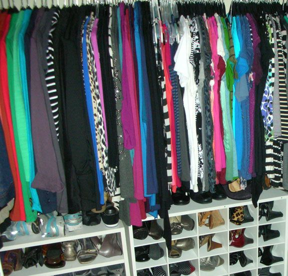 I recently received an email from a reader who is struggling with paring down her overly large wardrobe. She has too many clothes and would like to reduce the volume, but her difficulty lies in th...