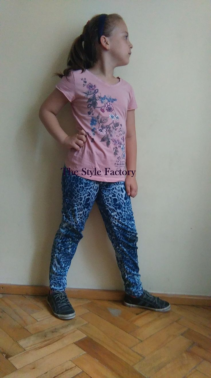 Blue panther pants // thestylefactory.pl //