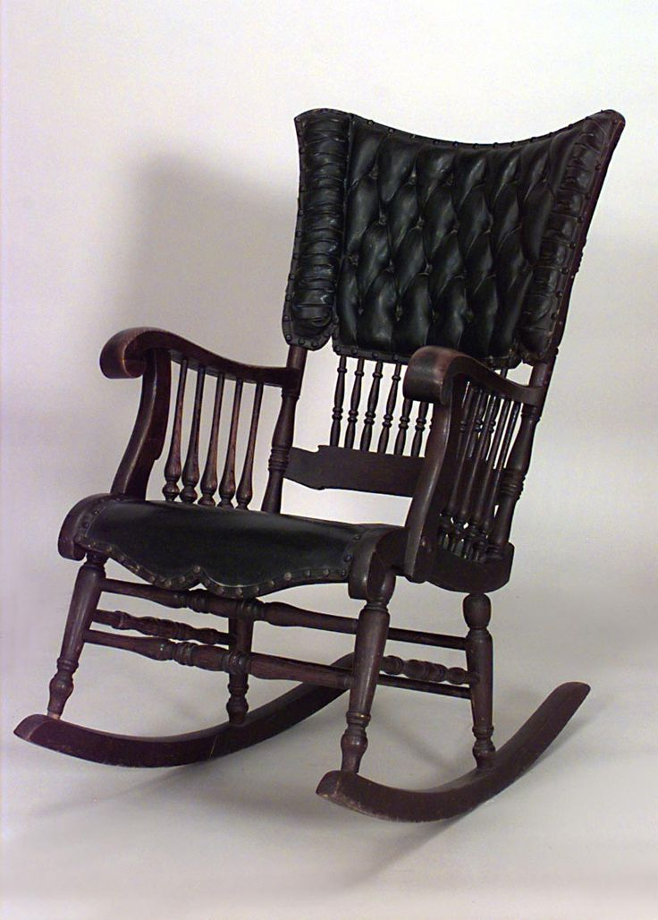 American Victorian Rocking Chair-- I grew up with my mom rocking my sisters and I to sleep in the rocking chair, it's only fair I continue the tradition...