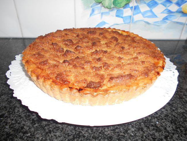 Taart met appel, abrikozenmoes en kokosnoot, Recepten - Gebak, Gette.org