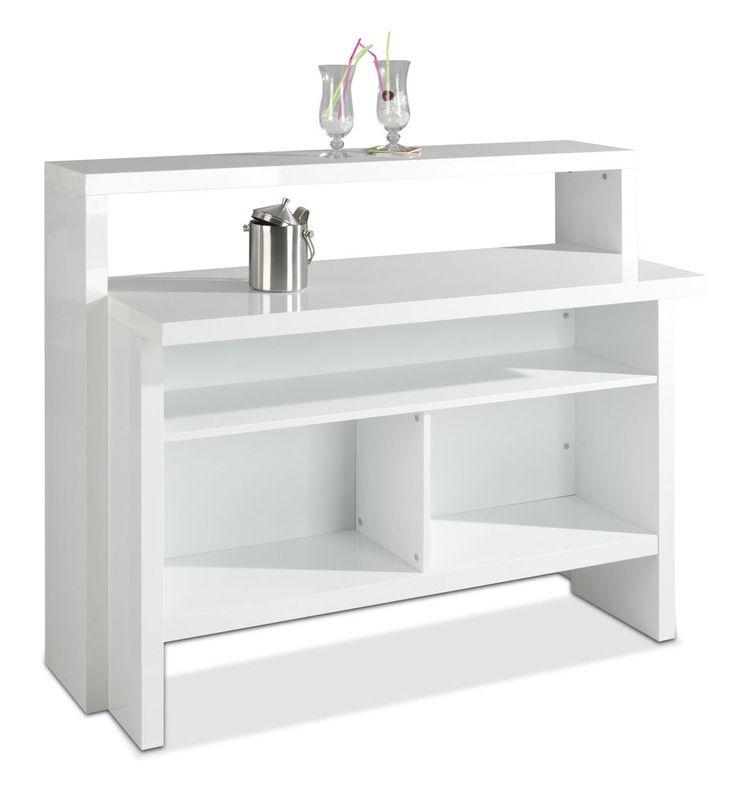 Küche Mit Bar Tresen Theke In Der Küche Holztresen: Ikea Weingläser, Ikea Hacker Lack Und Ikea Bar