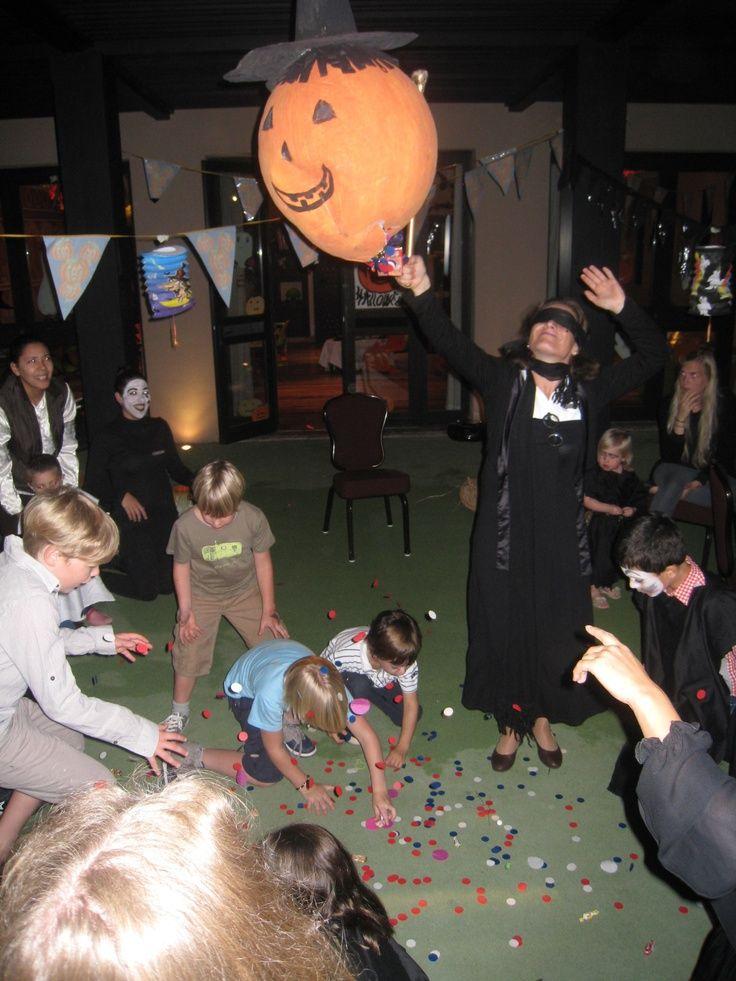 Kids are having fun celebrating Halloween at the kids' club
