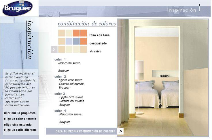 simulador de ambientes Bruguer - como elegir el color de la pared