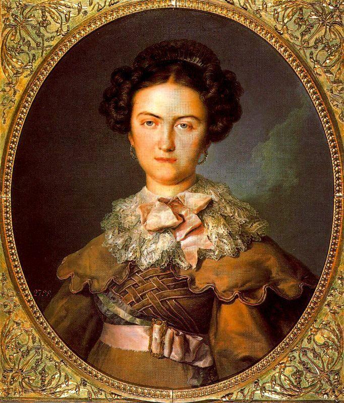 1820 Reina María Josefa Amalia by Vicente López y Portaña (Prado)   Grand Ladies   gogm