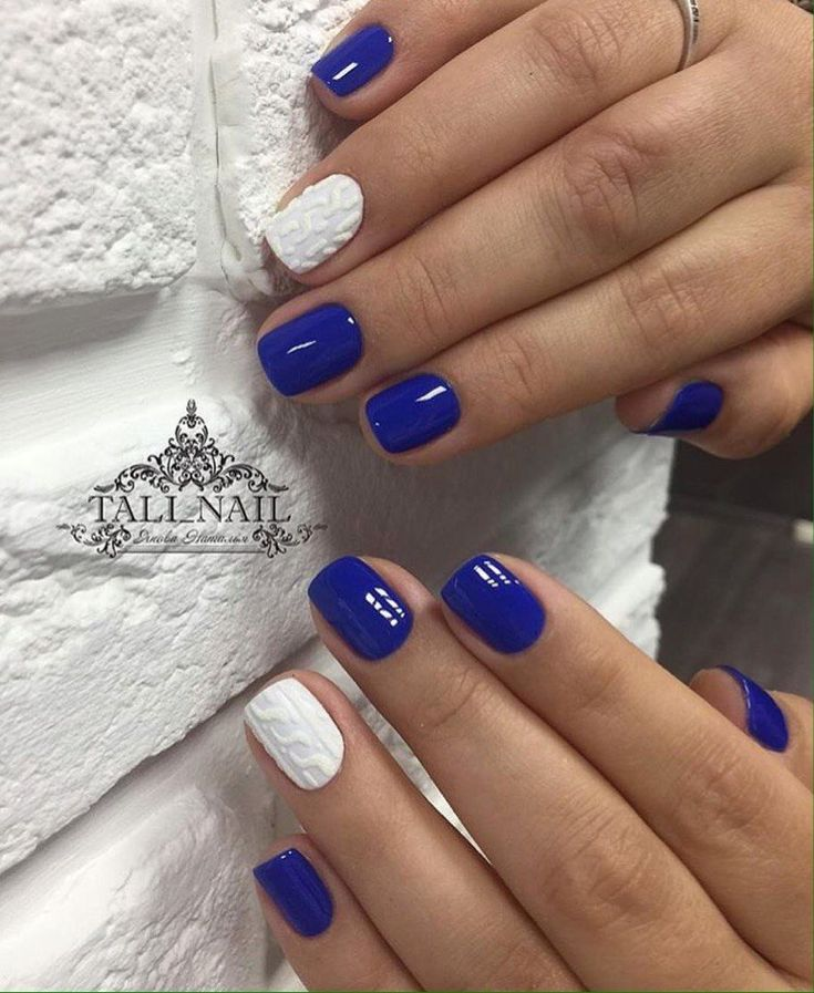 152 best Blue nails images on Pinterest