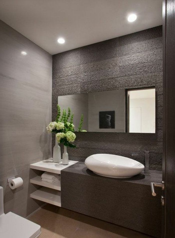 25+ best ideas about carrelage sdb on pinterest | carreaux salle ... - Meuble Salle De Bain Design Contemporain