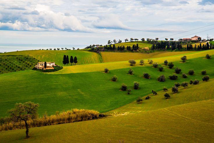 Up n' Down through the green hills of Abruzzo (Villa Maisé, Cologna)
