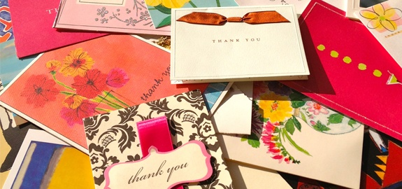 How to Write a Thank-You Note That Matters - great way to make a memorable impression! from Inc.com