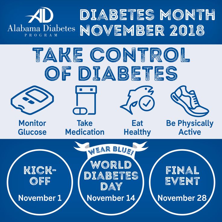 November is DiabetesAwarenessMonth. Learn about the