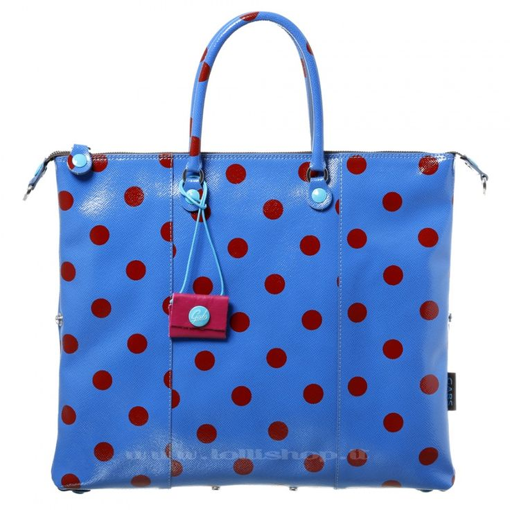 Borsa Gabs trasformabile G3 Pois #lollishop #gabs #collection #bag #bags #borsa #womenfashion #apparel #style #fashion #madeinitaly #winter #outfit #red #black #blue #pois #polkadot