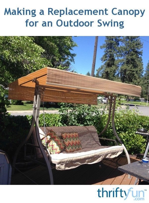 Patio Swing Replacement Seat: Best 25+ Canopy Swing Ideas On Pinterest