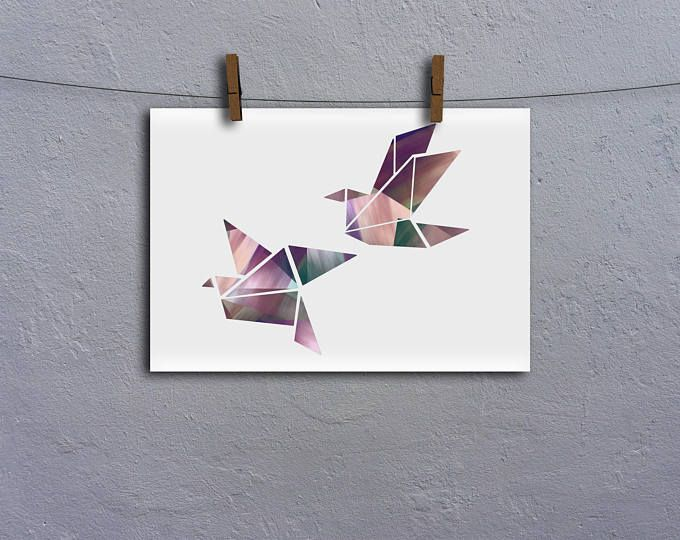 Geometric Birds A4