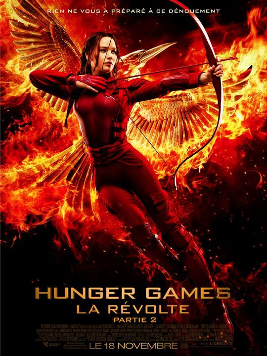 Hunger Games - La Révolte : Partie 2 en streaming Film complet. Regarder Hunger Games - La Révolte : Partie 2 streaming VF sans telechargement et il